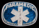 Colored Paramedic Belt Buckle