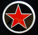 Red Star Belt Buckle