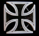 Iron Cross West Coast Chopper Logo Belt Buckle