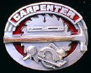 Colored Carpenter Belt Buckle