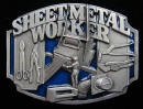 Sheet Metal Worker Belt Buckle