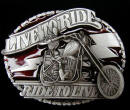 Ghost Rider Belt Buckle