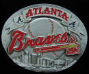 Atlanta Braves Belt Buckle
