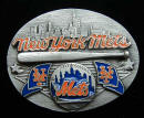 New York Mets Belt Buckle