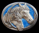 Mare And Colt Belt Buckle